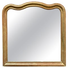 19th Century Gold Louis Philippe Mirror