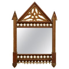 19th Century Gothic Wall Mirror Frame No.1  Decorative Picture Frame