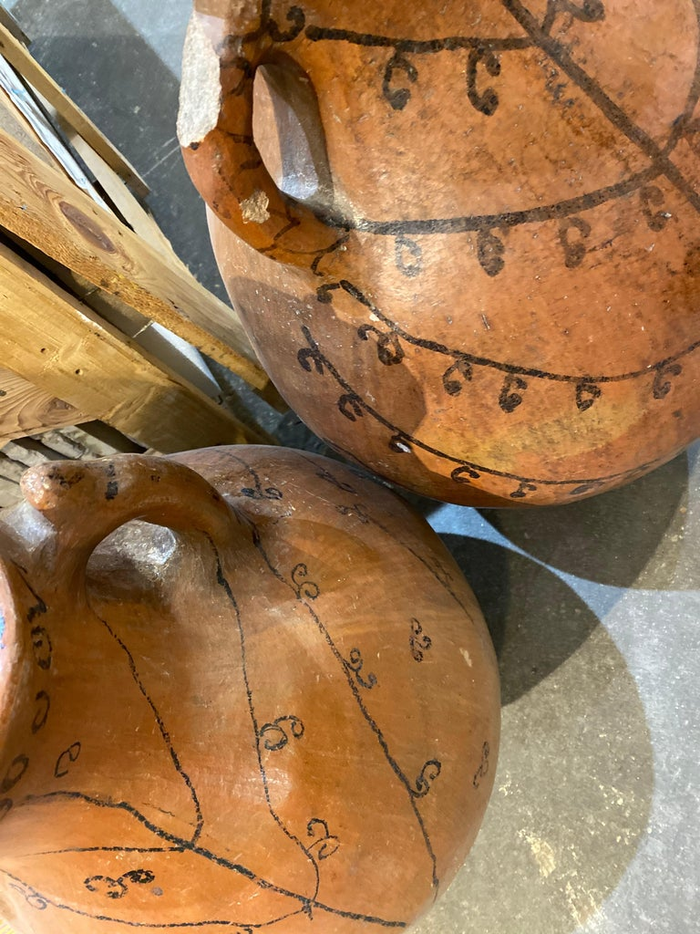 19th Century Grain Vessels from Spain In Good Condition For Sale In Dallas, TX
