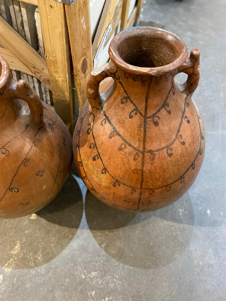 Clay 19th Century Grain Vessels from Spain For Sale