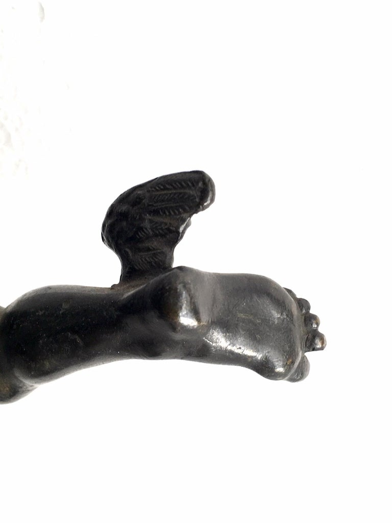 19th Century Grand Tour Bronze of Mercury For Sale 5