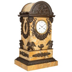 19th Century Grand Tour Influenced Mantel Clock