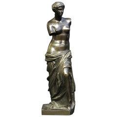 19th Century Grand Tour Style Bronze of Venus De Milo, Continental, Circa 1890