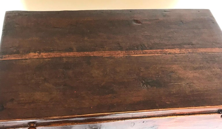 19th Century Guatemalan Storage Chest on Base For Sale 3