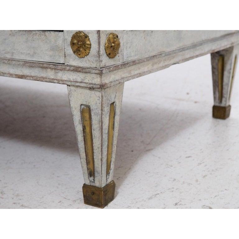 19th Century Gustavian Bureau Neoclassical Style For Sale 4