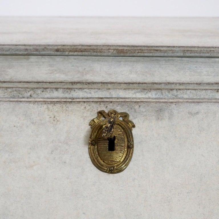 19th Century Gustavian Bureau Neoclassical Style For Sale 5