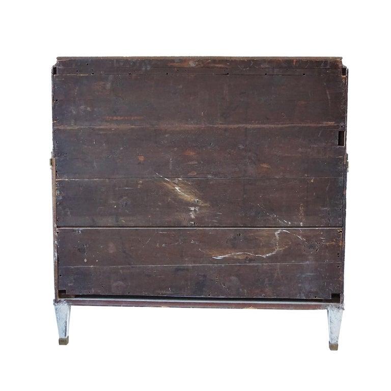 Pine 19th Century Gustavian Bureau Neoclassical Style For Sale