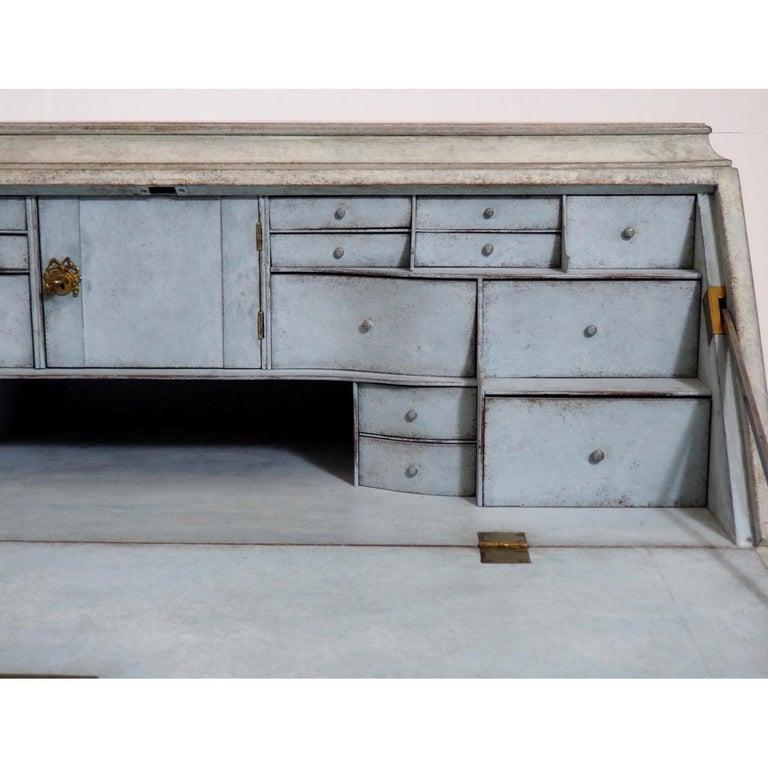 19th Century Gustavian Bureau Neoclassical Style For Sale 1