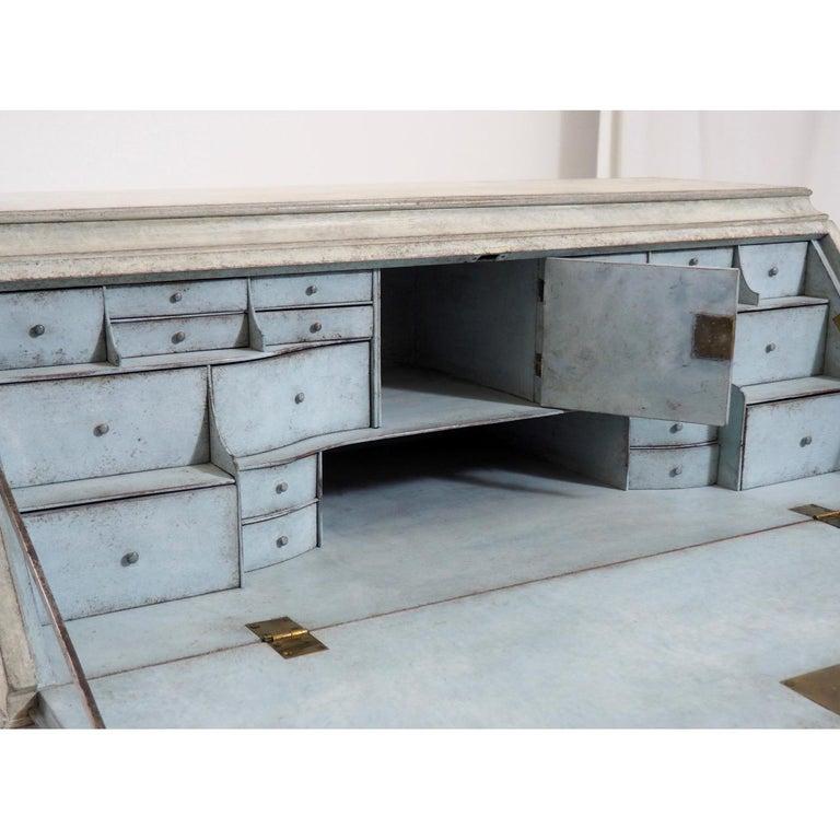 19th Century Gustavian Bureau Neoclassical Style For Sale 2