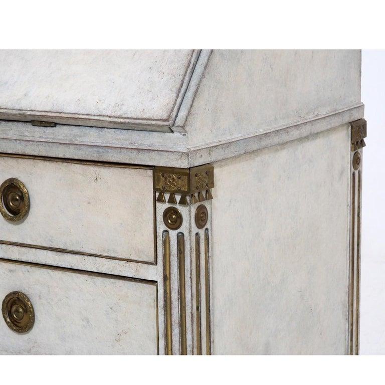 19th Century Gustavian Bureau Neoclassical Style For Sale 3