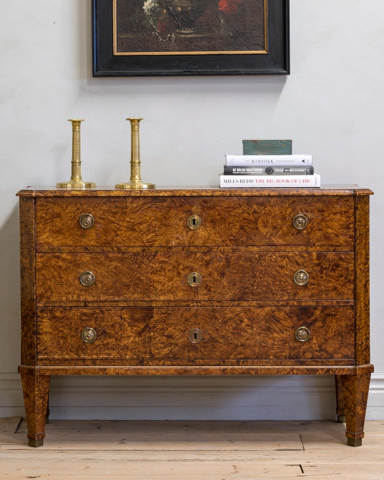19th Century Gustavian Chest of Drawers For Sale 4