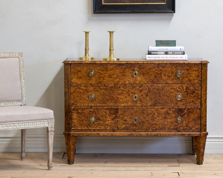 Swedish 19th Century Gustavian Chest of Drawers For Sale