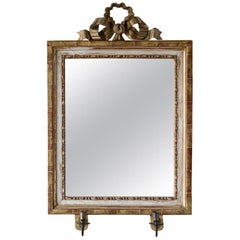 19th Century Gustavian Mirror Scone