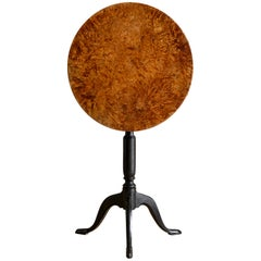 19th Century Gustavian Period Tilt-Top Table