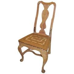 19th Century Gustavian Sidechair