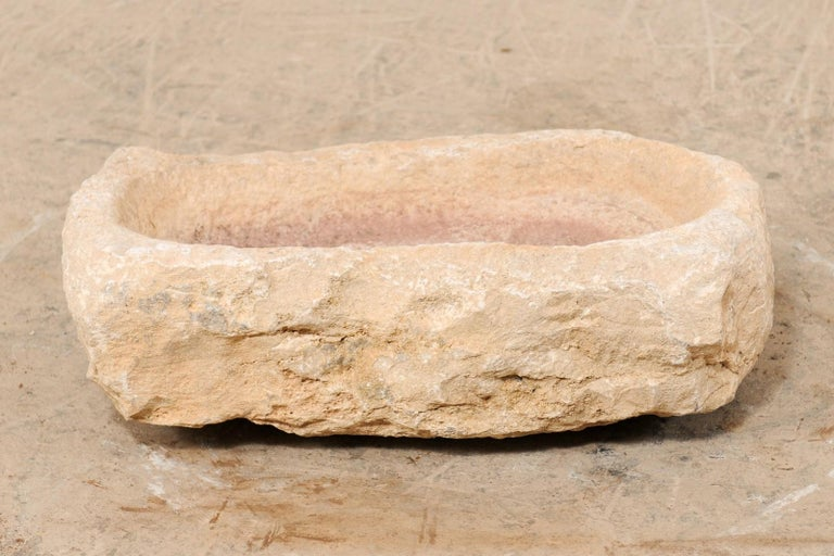 19th Century Hand Carved Stone Trough For Sale 3