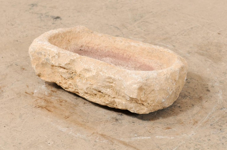 19th Century Hand Carved Stone Trough For Sale 4