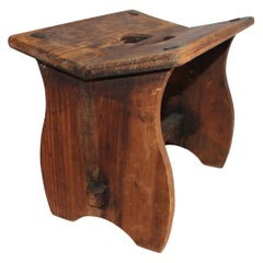 19th Century Handmade Bench/Stool