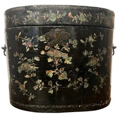 19th Century Hat Box