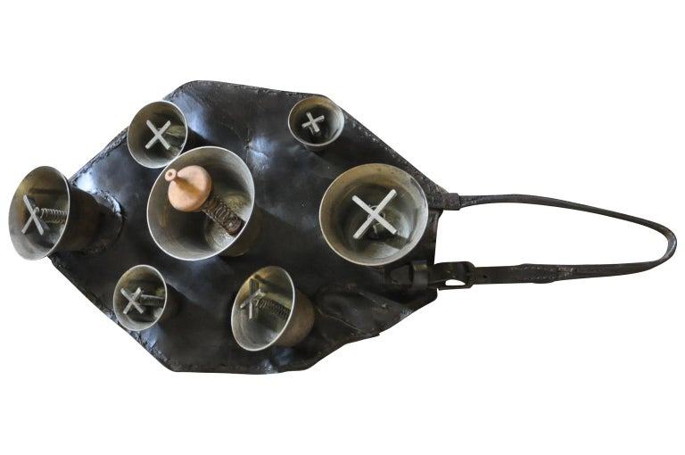 Swiss 19th Century Herder's Cowbells For Sale
