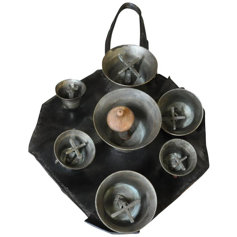 19th Century Herder's Cowbells For Sale