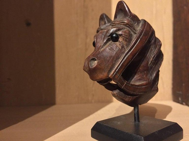19th Century Horse Pipe Head 10