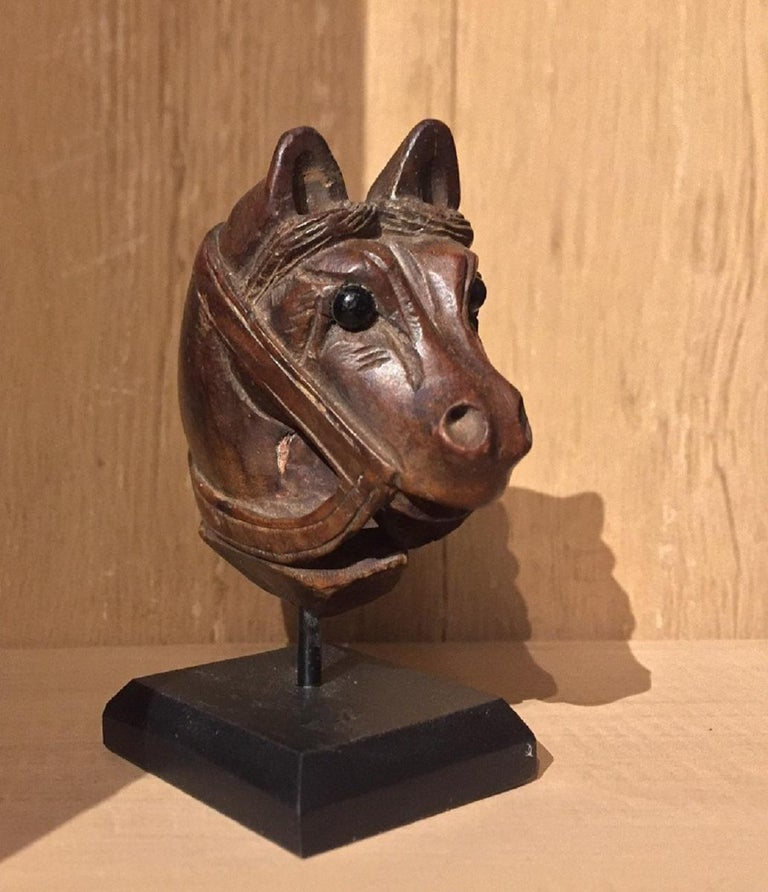 19th Century Horse Pipe Head 14