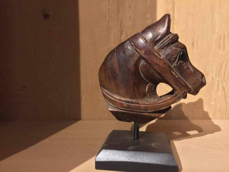 19th Century Horse Pipe Head 2
