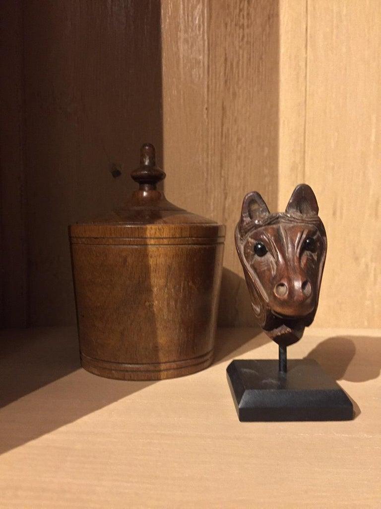 19th Century Horse Pipe Head 4