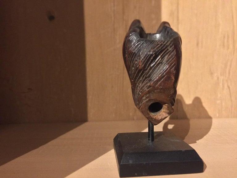 19th Century Horse Pipe Head 5