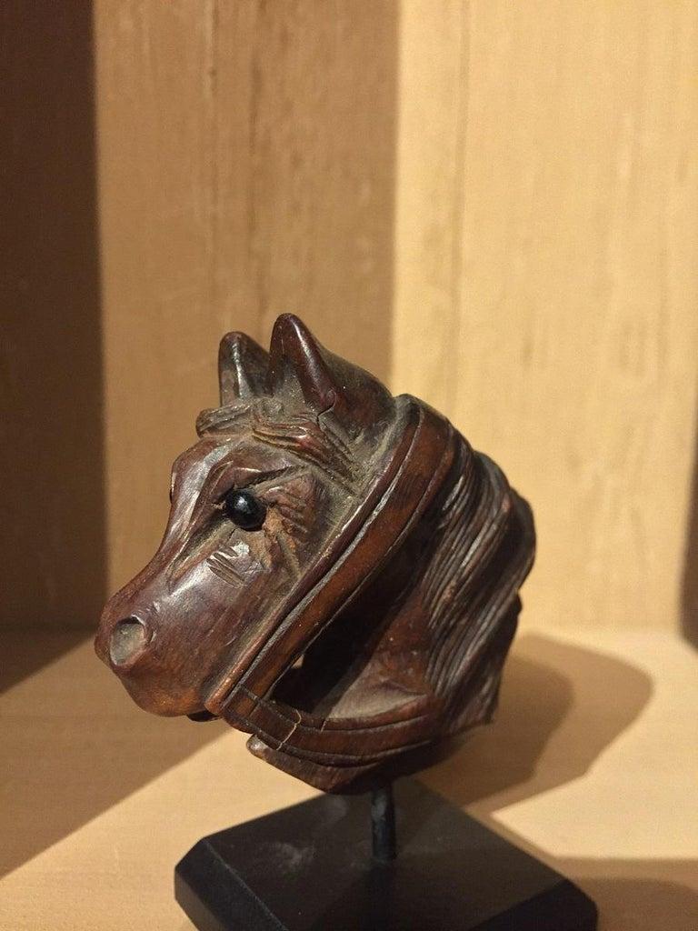 19th Century Horse Pipe Head 8