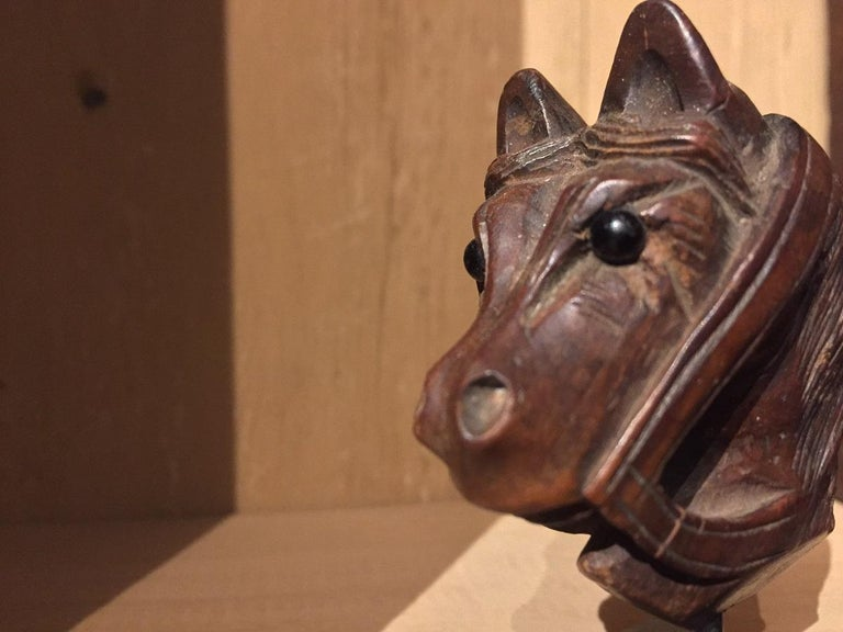 19th Century Horse Pipe Head 9
