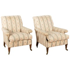 19th Century Howard Willoughby Armchairs