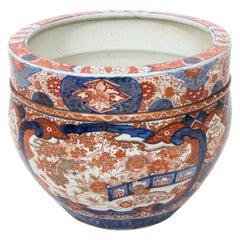 19th Century Imari Cache Pot