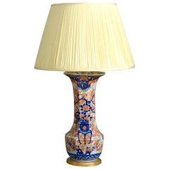 19th Century Imari Vase Lamp