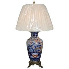 19th Century Imari Vase Table Lamp
