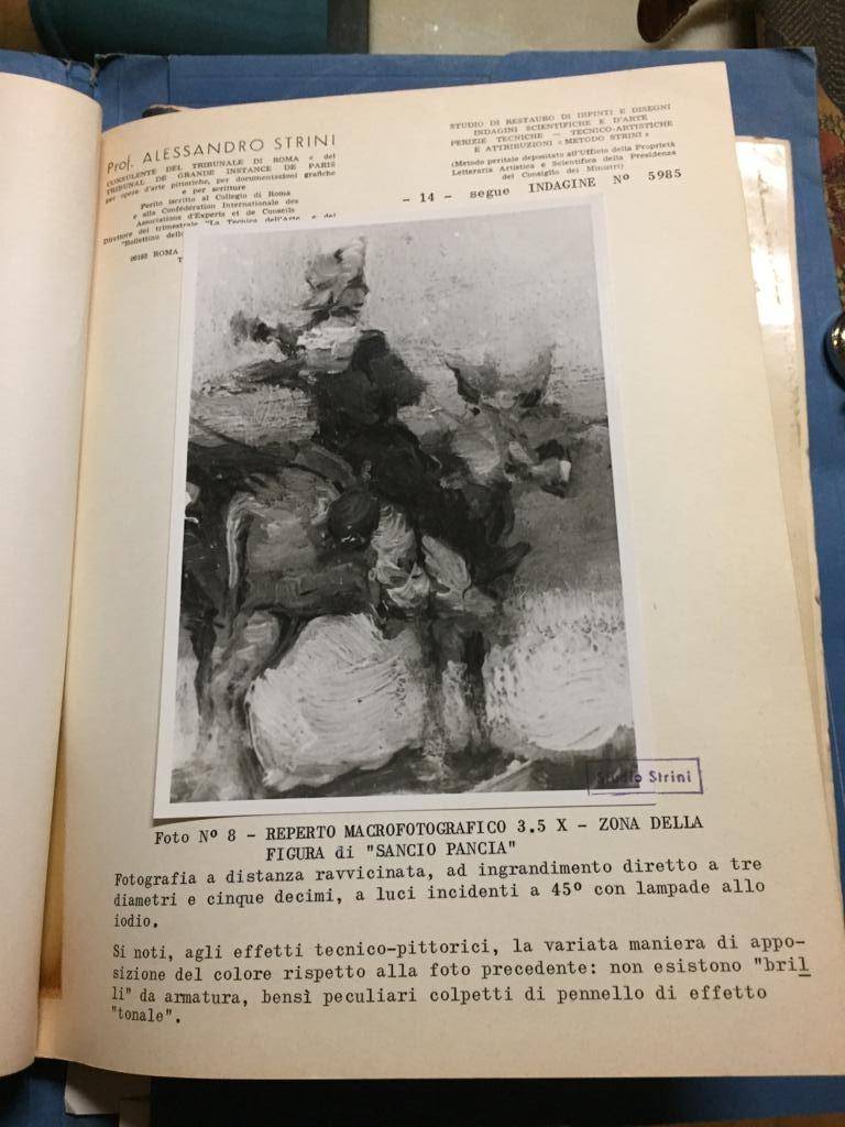 19th Century Impressionist Oil Painting Don Quixote De La Mancha For Sale 7