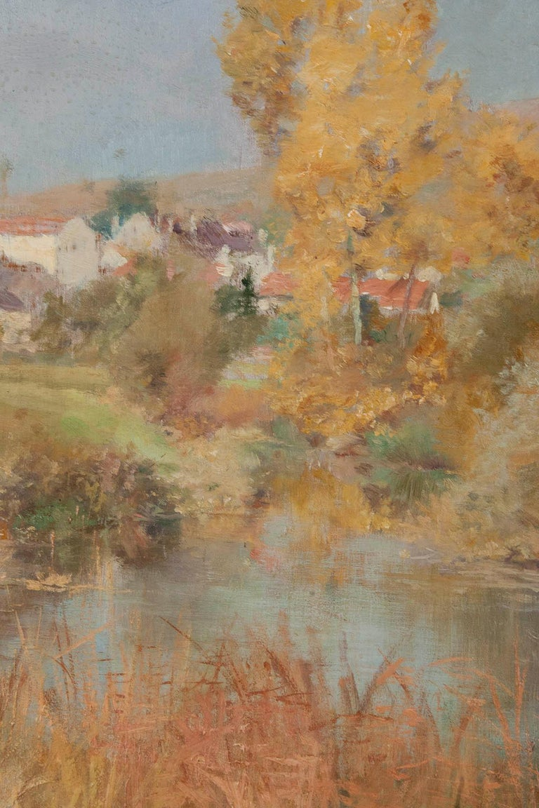 19th Century Impressionistic Oil Painting by Pierre Georges Jeanniot For Sale 4