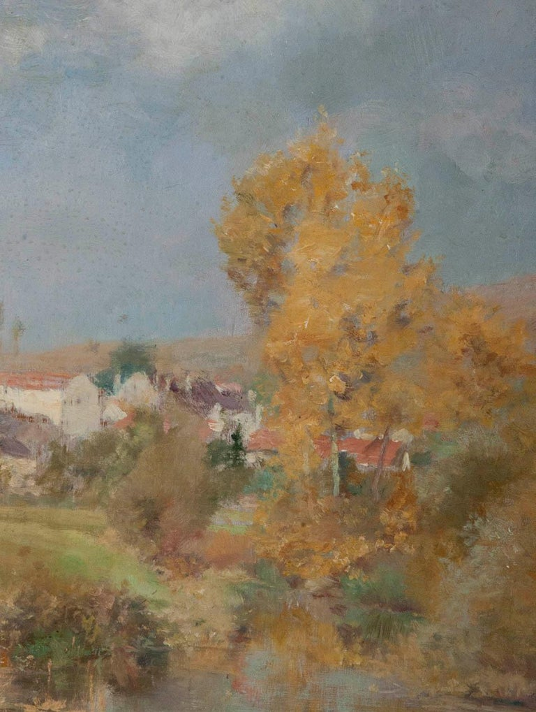 19th Century Impressionistic Oil Painting by Pierre Georges Jeanniot In Good Condition For Sale In Casteren, Noord-Brabant