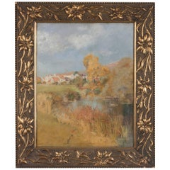 19th Century Impressionistic Oil Painting by Pierre Georges Jeanniot