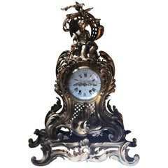 19th Century Impressive Ormolu French Mantle Clock