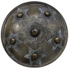 19th Century Indian Dhal Shield