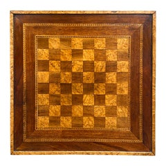 19th Century Inlaid Game Board
