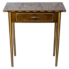 19th Century Inlaid Side Table