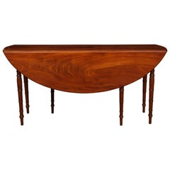 19th Century Irish, Drop Leaf Breakfast Table