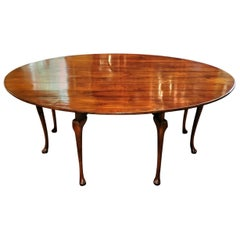 19th Century Irish Elm Wake Table, Outstanding