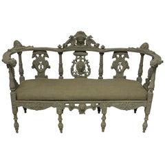 19th Century Irish Hall Seat