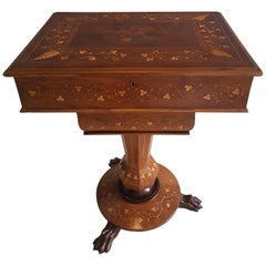19th Century Irish Killarney Work Table