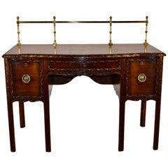 19th Century Irish Mahogany Sideboard