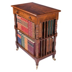 19th Century Irish Regency Freestanding Bookcase By Williams & Gibton Of Dublin